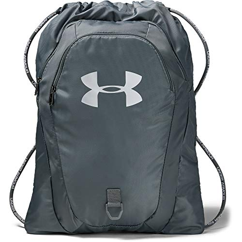 Under Armour Undeniable 2.0 Sackpack, Pitch Gray (012)/Silver, One Size Fits All