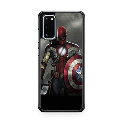 Inspired by Avengers Endgame Spider Man Superhero Case for Samsung Galaxy A71 5G A70 A51 A50 A21 A20 Case Galaxy A11 A10e A01 s10e Comics Phone Cover M257