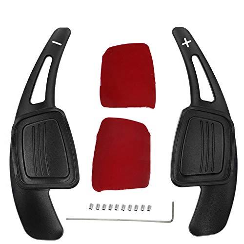 gipoiSD Autolenkrad-Schaltpaddel Verlängerung der Aluminium-Schaltpaddel für Audi A3 A4L A5 S3 S4 Q2 Q5 Q7 S3 S4 TT TTS