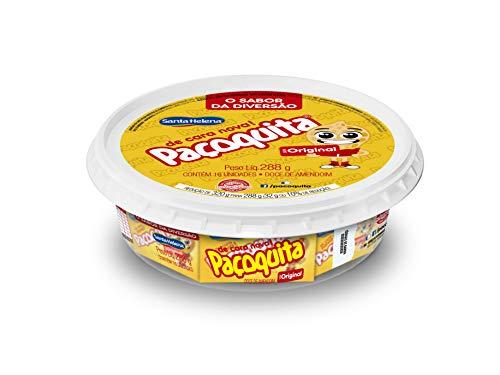 Feiner Erdnussriegel, einzelverpackt, Plastikdose 288gr / Paçoquita Retangular Embalada