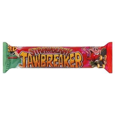 zed candy strawberry jawbreaker 41.3g (pack of 30) Zed Candy Strawberry Jawbreaker 41.3g (Pack of 30) 414JhcyGENL