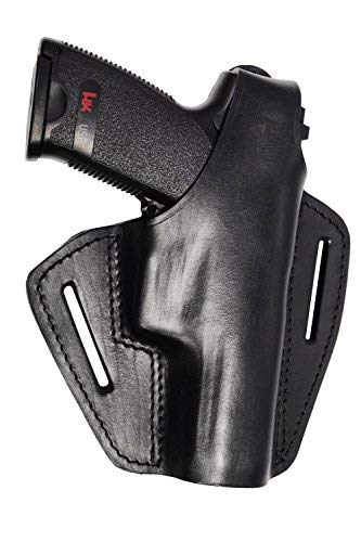 VlaMiTex B2 Leder Pistolenholster Gürtel Holster für Röhm RG96 Roehm