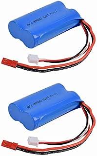 2 pcs 7.4V 1500Mah JST Plug li-on Battery for Syma 9101 9053 Wltoys Wl912 12428 etc