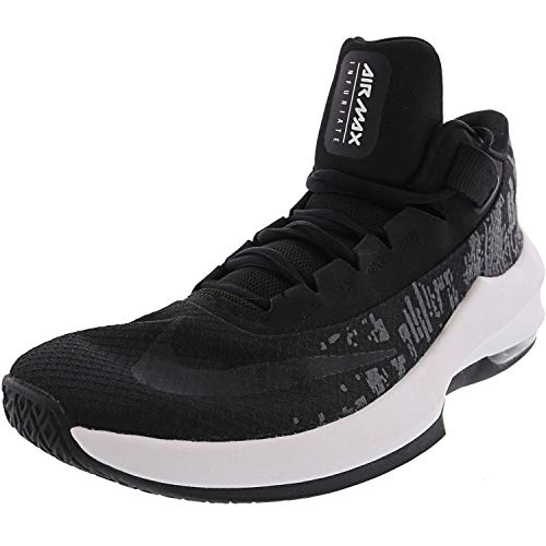 Nike Herren Air Max Infuriate 2 Basketballschuhe, Mehrfarbig (Black/White/Anthracite 001), 44 EU