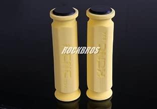 KCNC EVA Foam Grips MTB Folding Bike XC Touring Sponge Soft Grips 20g (Yellow)