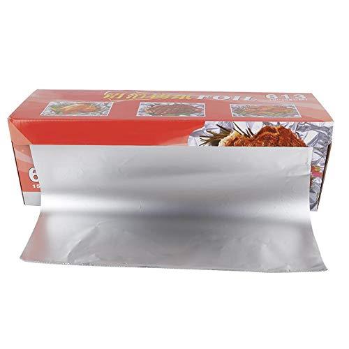 Bakvorm folie verpakkingsfolie grillfolie papier grillgerei accessoires bestand tegen hoge temperaturen MEERWEG verpakking