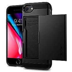 powerful Spigen Slim Armor CS Designed for Apple iPhone SE 2020 Case / Designed for iPhone 8 Case (2017) /…