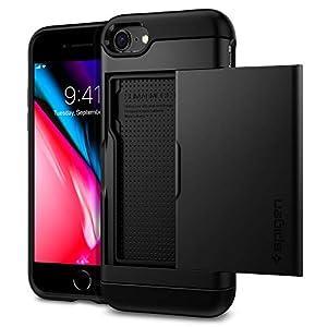 """【Spigen】 iPhone SE ケース [第2世代] / iPhone 8 / iPhone 7 対応 カード 収納 新型 MIL規格取得 耐衝撃..."""""""