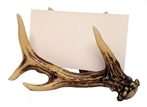Deer Antler Office Decor Business Card Holder (Business Card Holder)