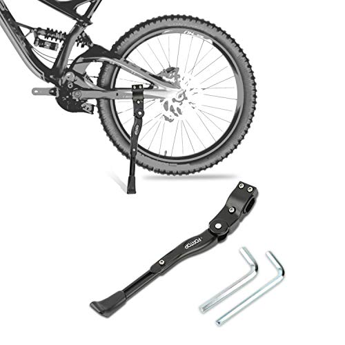 FORTOP Bike Support Bicycle Kickstand Adjustable Aluminum Alloy for 22""