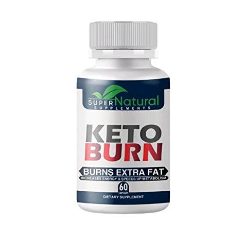 100% Natural ** Pure Keto Diet Pills - Keto Pills with BHB Made with Natural Ingredients, Boosts Energy and Metabolism, Best Weight Loss Pills, Shark Tank Keto Diet Pill – 60 ct. - by Super Natural