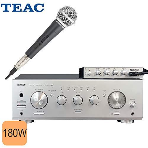 カラオケに■TEAC プリメインアンプ A-R630mk2 (エコー・マイク付)