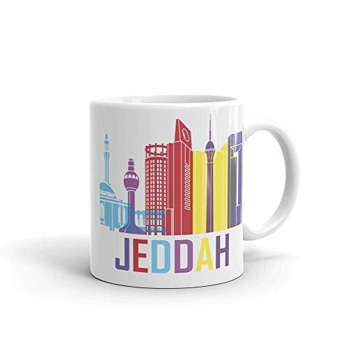 Taza de café de Arabia Saudita, idea de regalos para el hogar, taza de té, regalo de Acción de Gracias, regalo de Navidad, 11 onzas