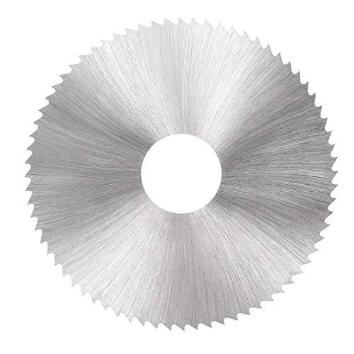 Hoja de sierra HSS, 63 mm, disco de corte circular 72 dientes 3 mm de grosor con eje 16 mm