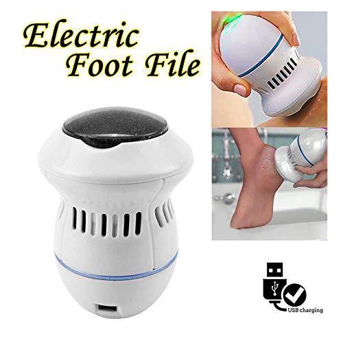 Polisseur de pied électrique, dissolvant de peau dure électrique Suppresseur de callosités de fichier de pied de pédicure,outil de soin des pieds pour femme