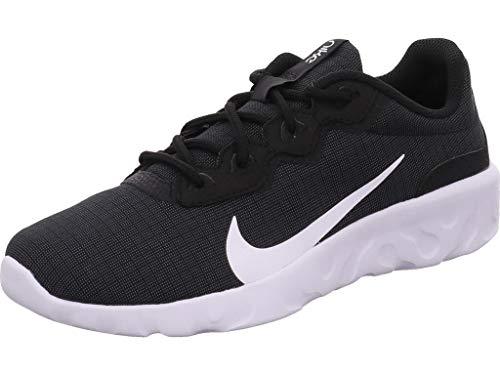 Nike Wmns Explore Strada, Zapatos para Correr Mujer, Black/White, 36.5 EU