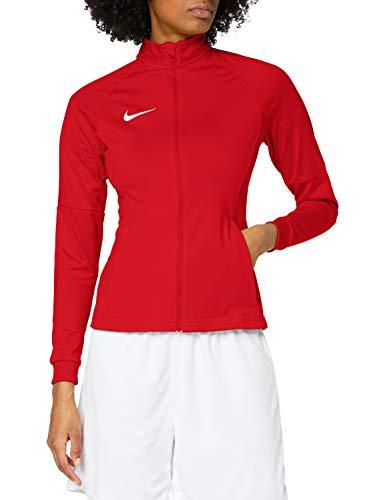 Nike W NK Dry Acdmy18 Trk Jkt K Sport jacket, Mujer, University Red/ Gym Red/ White, M