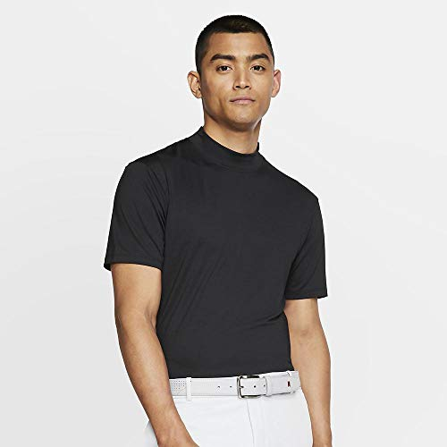 Nike TW Vapor Dri Fit Mock OLC Golf Polo 2019 Black X-Large Dri Fit Mock Neck Shirt