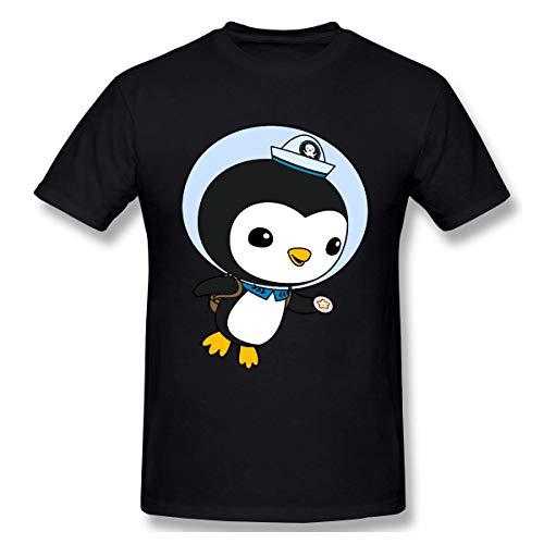 Yuanmeiju Mann T-Shirt Octonauts Peso Men's Cotton Fashion Casual Short Sleeve Round Neck Tshirt