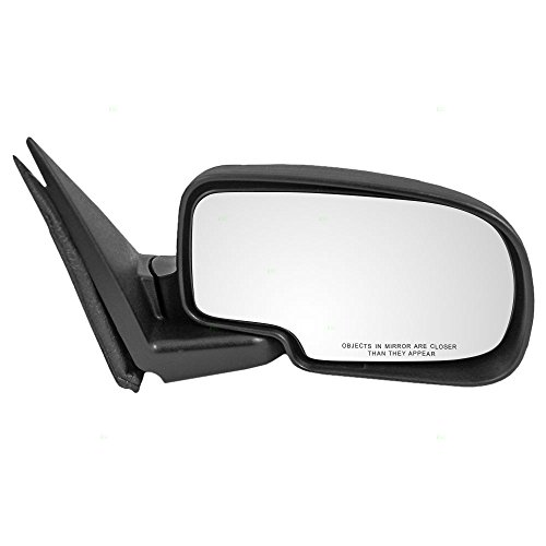 Aftermarket Replacement Passengers Manual Side View Mirror Compatible with Silverado Sierra Pickup Suburban Yukon/XL Tahoe 25876715