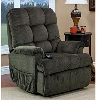 Medlift 5555P-CAG Cabo Petite Sleeper/Reclining Lift Chair, Godiva