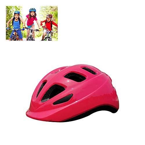 KELEQI Kinderfietshelm, Rolschaatsuitrusting, Schaatsen, Skateboarden, Mountainbike, Geschikt voor 3-8 jaar oud Jongen/meisje