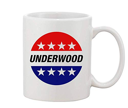 Underwood Election Sticker President Frank White Ceramic Coffee...