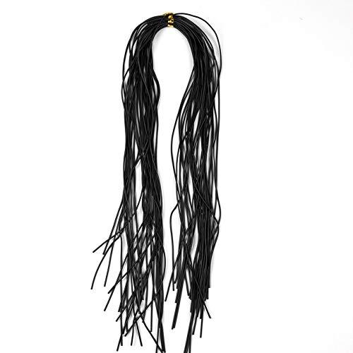 No Logotipo LMY-Lure, 1 Paquete de 1 mm Redondo cordón de Goma de Silicona Fly Tying Legs Fishing Jig Lure Gonne Material Jigging Lure Trolling Lure