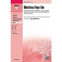 アルフレッド00-31050クリスマスポップTrio- Aメドレー - ミュージックブック