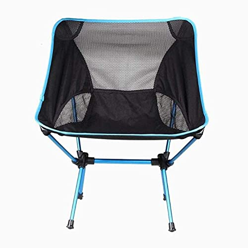 Klappstühle Outdoor Heavy Duty, Strandkorb Outdoor Tragbarer Campingstuhl Sitzhocker Angeln Camping Wandern Strand Picknick Barbecue Gartenstühle, 01 Outdoor