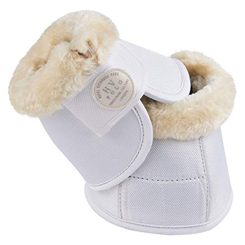 HV Polo Hufglocken Joya Fake Fur | Gr. XL | weiß White