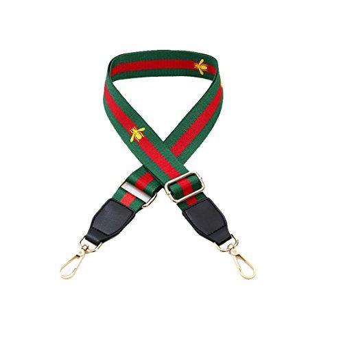 Umily 80-130cmLunghezza tracolla regolabile spalla borsa cinturino DIY fiore Rivetto manico crossbody borsa cinghia di ricambio