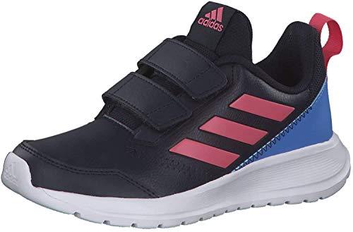 adidas Performance adidas G27230 AltaRun CF Jungen Mädchen Sportschuh aus Mesh Textilausstattung, Groesse 36, dunkelblau/pink