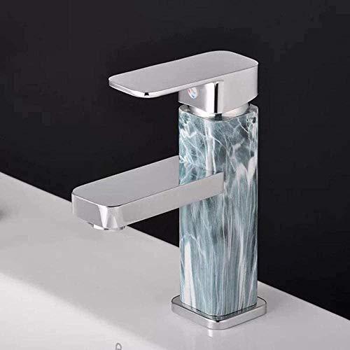 Grifo mixto frío y caliente Lavabo de baño Grifo de calentamiento de agua de elevación creativa de un solo orificio Elegante