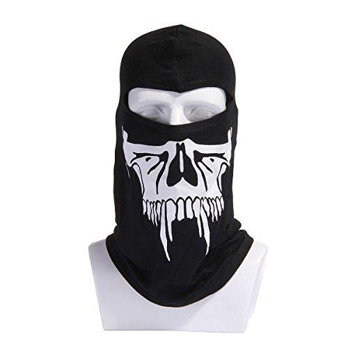 Mascarillas de calaveras algodón máscara máscaras decorativas tocados mask#2: Amazon.es: Deportes y aire libre