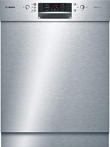 Bosch SMU46IS04E Serie 4 Unterbau-Geschirrspüler / A+++ / 60 cm / Edelstahl / 234 kWh/Jahr / 13 MGD / SuperSilence / Extra Trocknen / VarioBesteckkorb