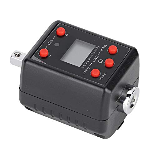 Adaptador de llave dinamométrica digital, calibrador de llave dinamométrica, diseño de modo de ahorro de energía con todas las funciones para inspección de mantenimiento de aviación de