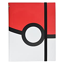 small Ultra Professional Pokemon Full View Folder with 9 Pockets: Pokeball