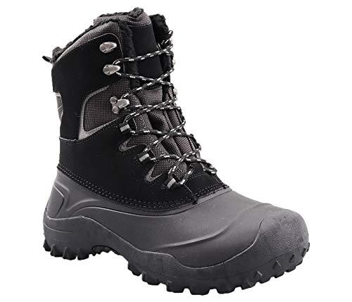 Amazon Essentials Men's Ankle Boot, Black, 9 Medium US