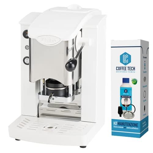 MACCHINA CAFFE A CIALDE IN CARTA ESE 44MM FABER SLOT INOX (BIANCO) + KIT MANUTENZIONE