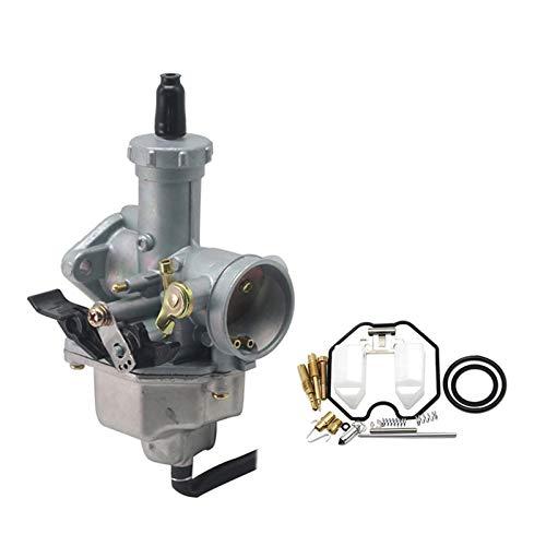 Carb Carburetor, PZ27 27mm / Fit for - Keihin/Carburetor Auto Cable Choke Carb with Repair Kit/Fit for - H-ON-D-A / CG150 CG175 XR C-B XL CRF Pit (Color : Manual Set)