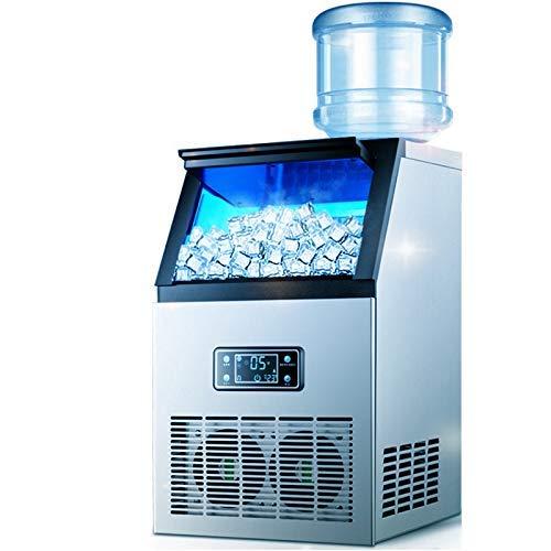DFJU Ice Makers Máquina de Hielo Industrial Máquina de Hielo Comercial Pantalla HD Limpieza con un...
