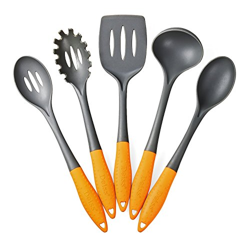 Deiss Art 5-Piece Nylon Utensil Set