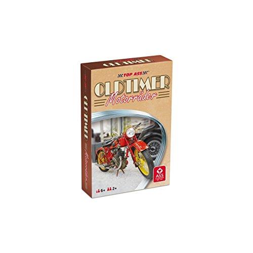 ASS Altenburger 22571455 - TOP ASS Oldtimer - Motorräder, Quartett, Kartenspiel