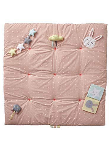 Vertbaudet Baby Activity-Decke ,,Sweet Fun rosa Bedruckt ONE Size