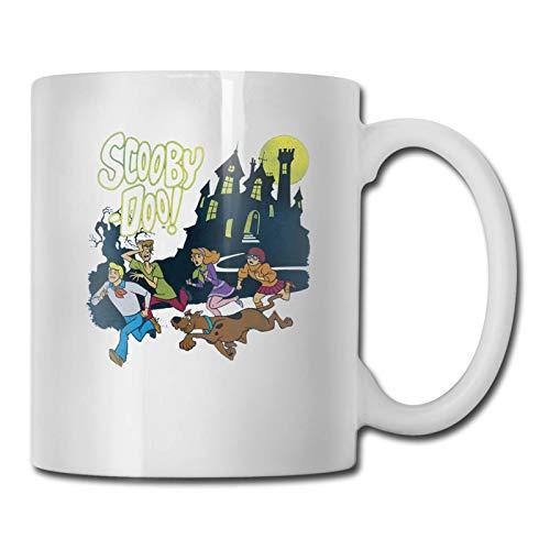 Scooby Doo Taza de cerámica esmerilada Taza de café Taza Taza de té para la capacidad de la oficina en el hogar.