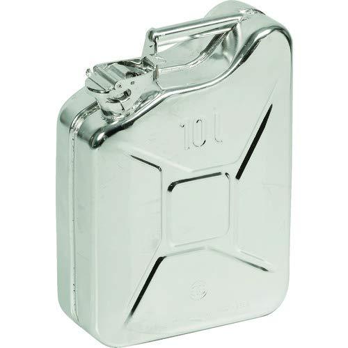 トラスコ中山 GELG ガソリン携行缶 10L ジェリカン ステンレス tr-2068300