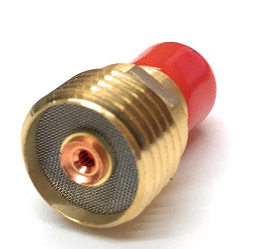 Weldmark TIG Small Gas Lens Collet Body #9, 20, 24W, 25 Torch 2PK (45V43-1/16')