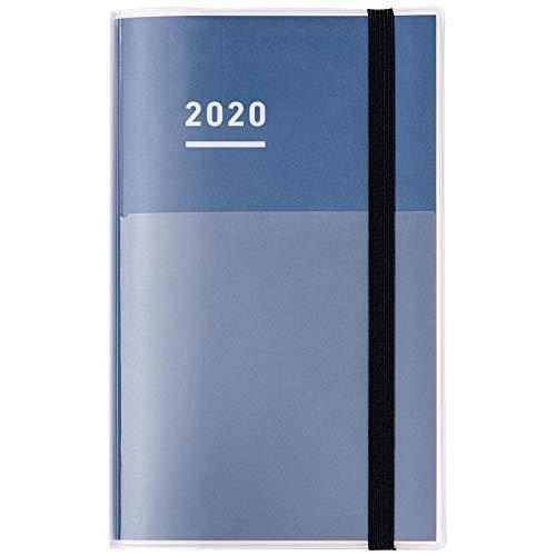 コクヨジブン手帳ファーストキット手帳2020年A5スリムマンスリー&ウィークリーインディゴニ-JF1DB-202019年11月始まり