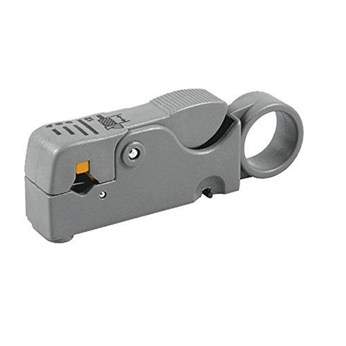 PremiumX PX-500 Abisolierwerkzeug Abisolierzange Abisolierer SAT für Koaxialkabel Kabel-Stripper SAT Entmanteler